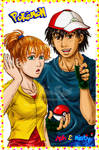 Pokemon- Ash and Misty Grown Up- Colored