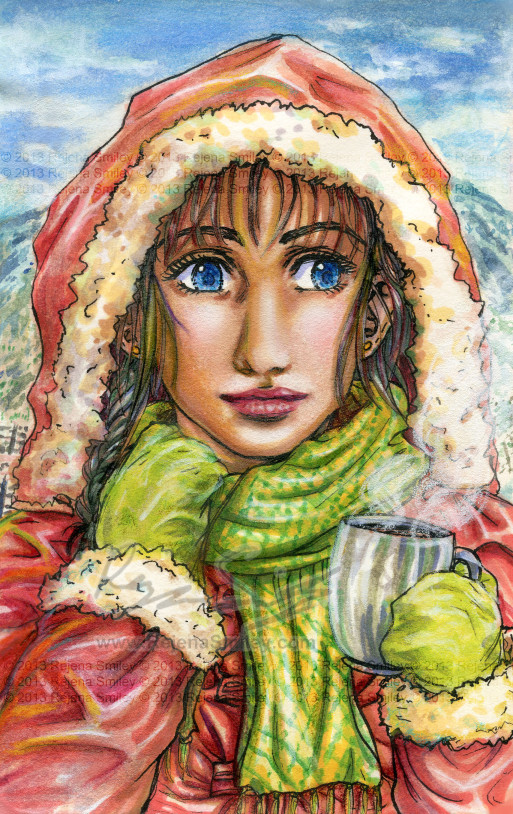 Leslie, It's Cold Outside by genaminna