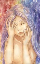 Upside-Down Tears by genaminna