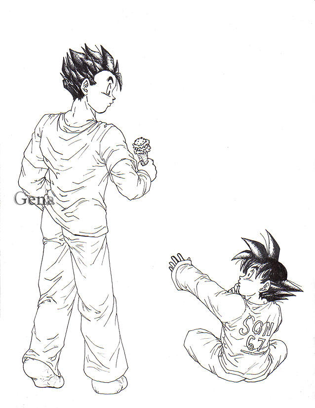 Trunks' Date, ch 5, page 151 by genaminna