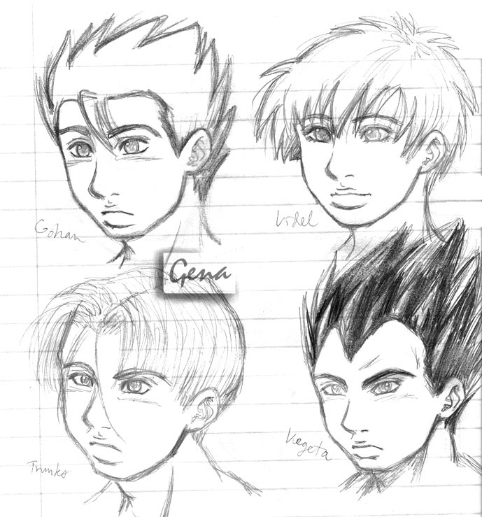 New DBZ-ish style? oh noes D: