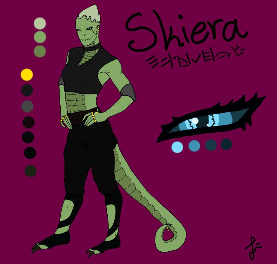 Skiera|Reference Sheet by Darkus-Woody