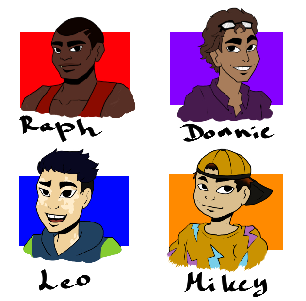 RotTMNT|Human Version by Darkus-Woody on DeviantArt