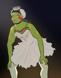 RotTMNT|Odette-onardo by Darkus-Woody
