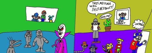 Go Go Gadget Halloween by LuciferTheShort
