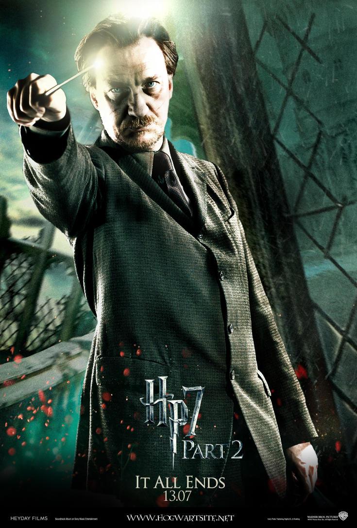 Deathly Hallows Part 2 Lupin By HogwartSite