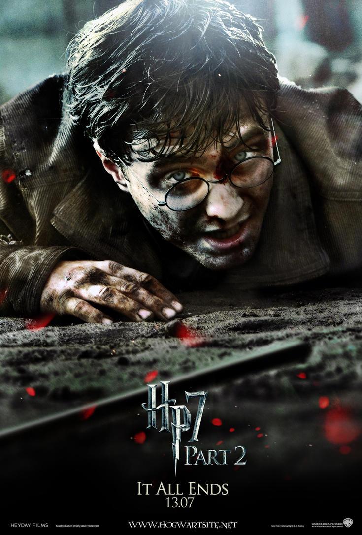Deathly Hallows Part 2 Harry By HogwartSite