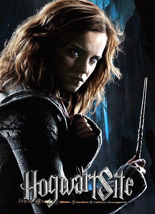 Hermione - HogwartSite.net poster by HogwartSite