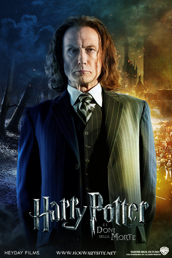 Rufus Scrimgeour 02 - Deathly Hallows Extended by HogwartSite ...