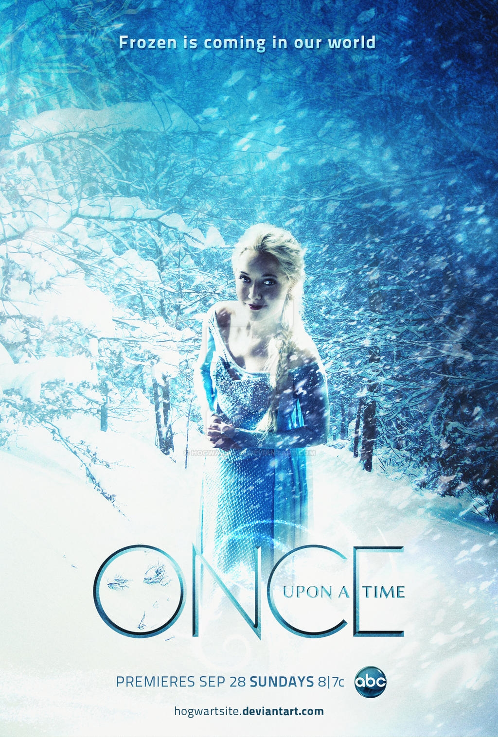 Once Upon a Time - Season 4 Poster Frozen by HogwartSite ...