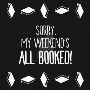 All Booked (RedBubble Design)