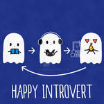 Happy Introvert by Wizard-Emeraldheart