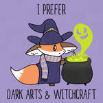I Prefer Dark Arts and Witchcraft by Wizard-Emeraldheart