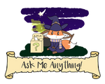 Ask Me Anything (Journal Thumbnail) by Wizard-Emeraldheart