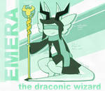 Character Feature (Emera) by Wizard-Emeraldheart