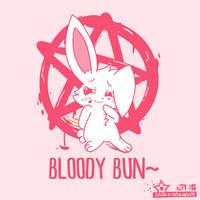 Bloody Bun~ by Wizard-Emeraldheart