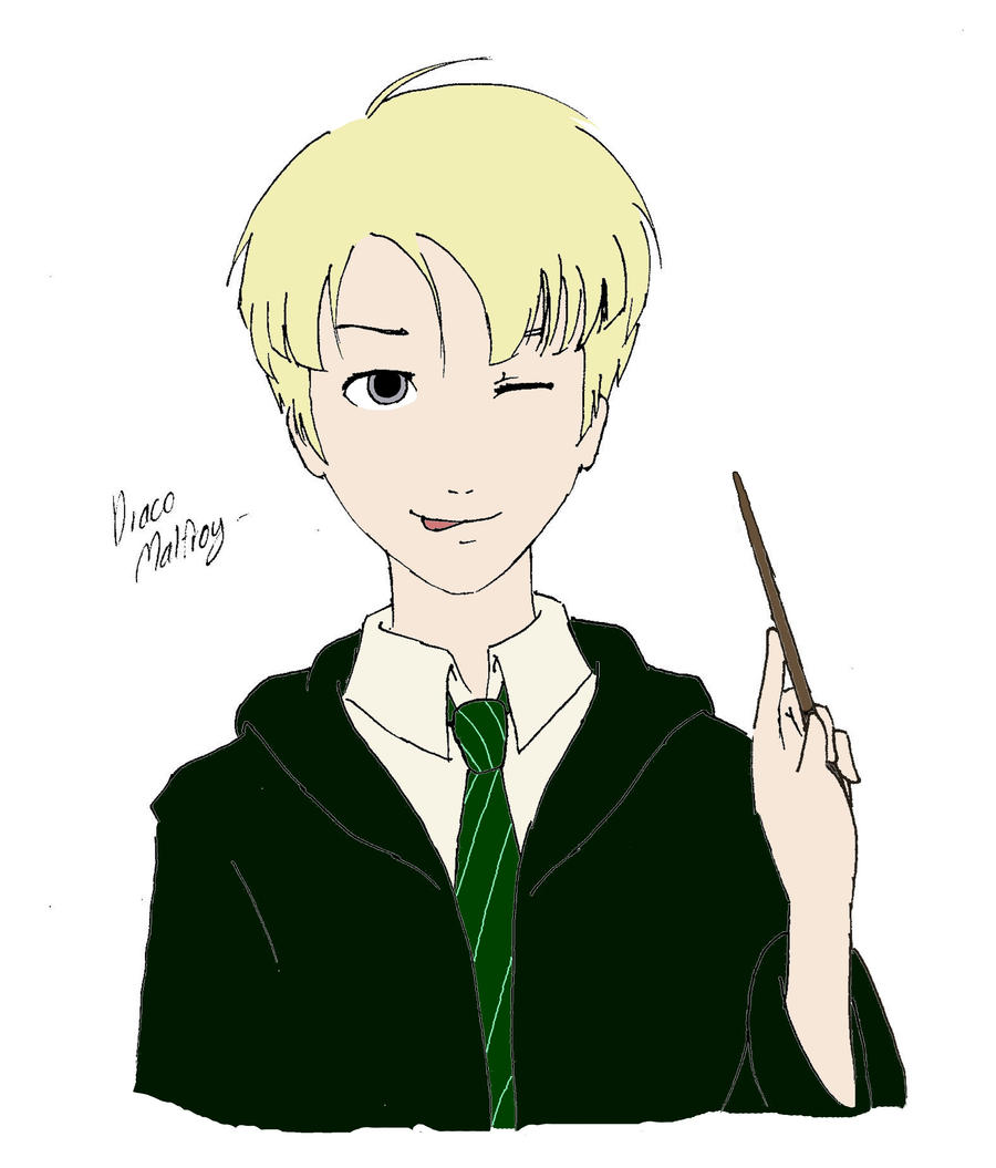 ITS DRACO MALFOY!!~~ by SaruwatariMiyako