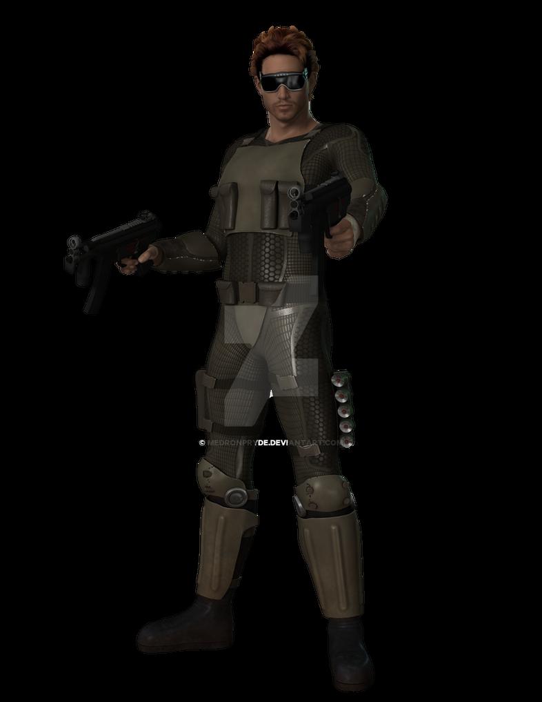 Major Tom Rogers by MedronPryde