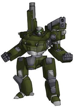 ZZJ-9HL Blackgun Main Battle Mech