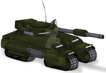 DT-13 Steel Hammer Main Battle Tank