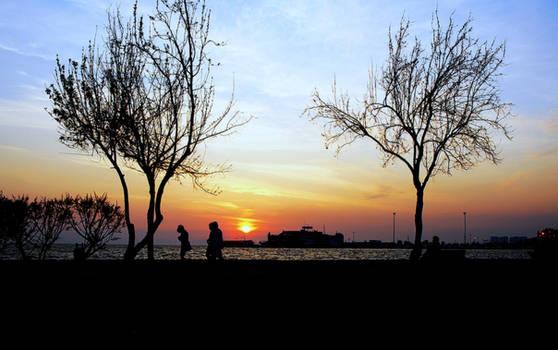 Sunset In Karsiyaka 2.
