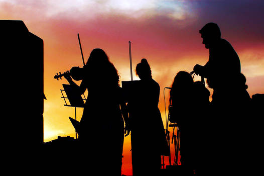 Concert At Sunset.