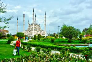Sabanci Central Mosque,Adana 3. by bigzoso