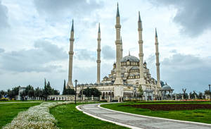 Sabanci Central Mosque,Adana 4. by bigzoso