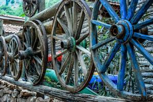 Wooden Wheels 2.