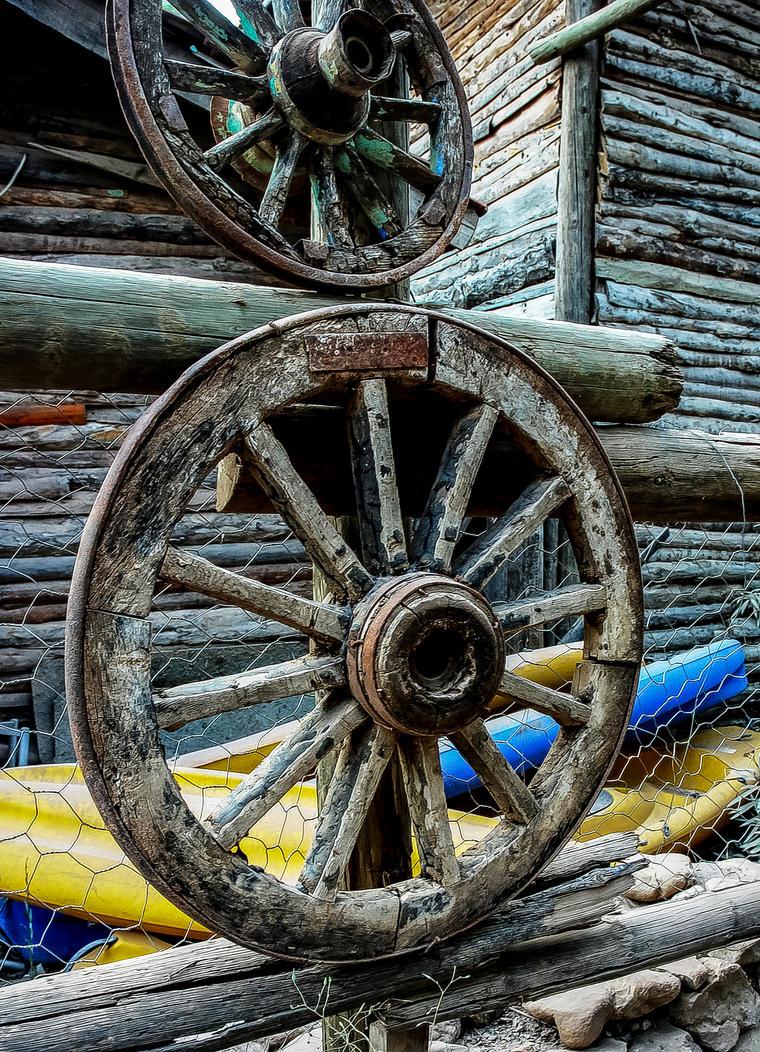 Wooden Wheels 3. by bigzoso