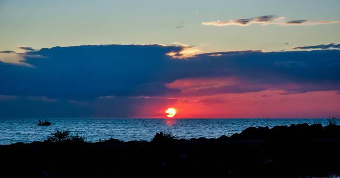 Sunset In Yalova 5.