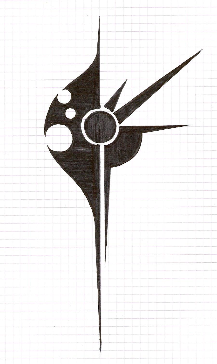 Tribal Tattoo Sketch