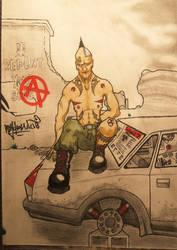 Radioactive fallout at dawn by PsychoNaute31