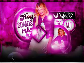 +Hoy Somos Mas//Edicion//Martina Stoessel by DaiiMartinezz