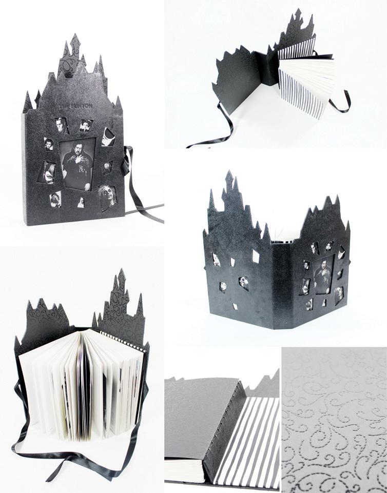 Tim Burton book by darkest-red