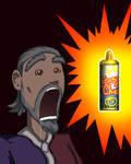 Sheogorath Discovers Spray Cheese