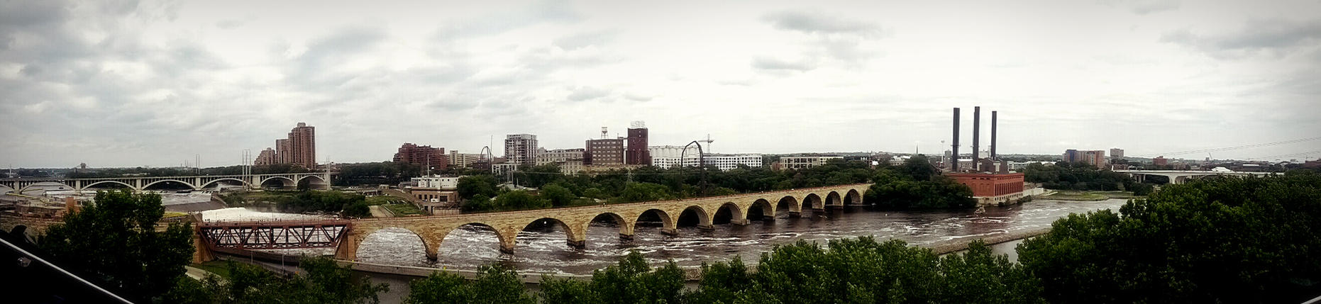 Mississippi from the Guthrie by KABren