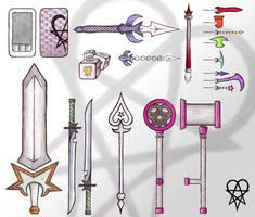 Nobody Weapon Designs