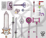 Nobody Weapon Designs