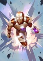 Iron Man by kiiiat