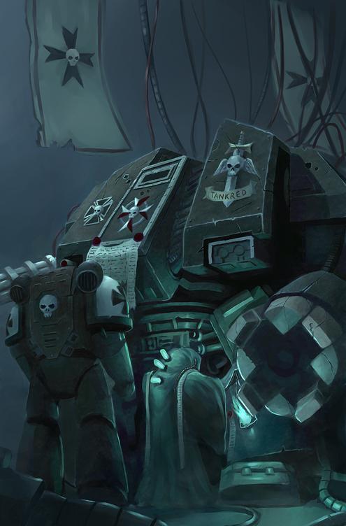Warhammer 40K by kiiiat