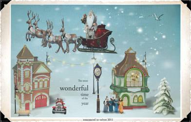 Working around a virtual sleigh... by wiseSandalwood