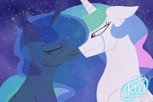 Princesses Celestia x Luna