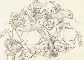 Copy of The Battle of Anghiari by xlphs