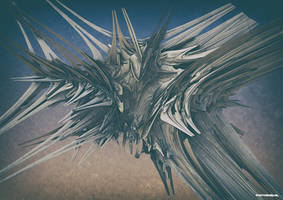 3d fractal spikes by Guidonr1