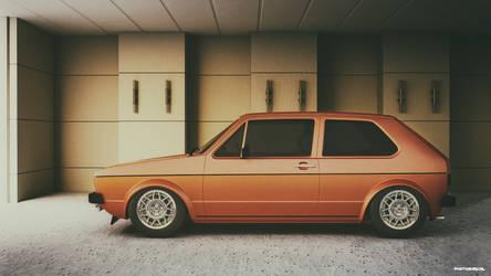 Volkswagen mk1 by Guidonr1