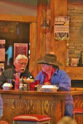 'Two Cowboys ' by KellySeale