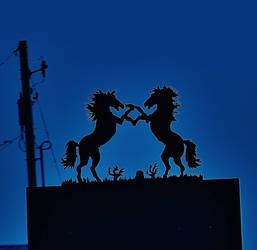 'Electric Horseman' by KellySeale