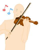 Violin Base by OMFG-Dolls
