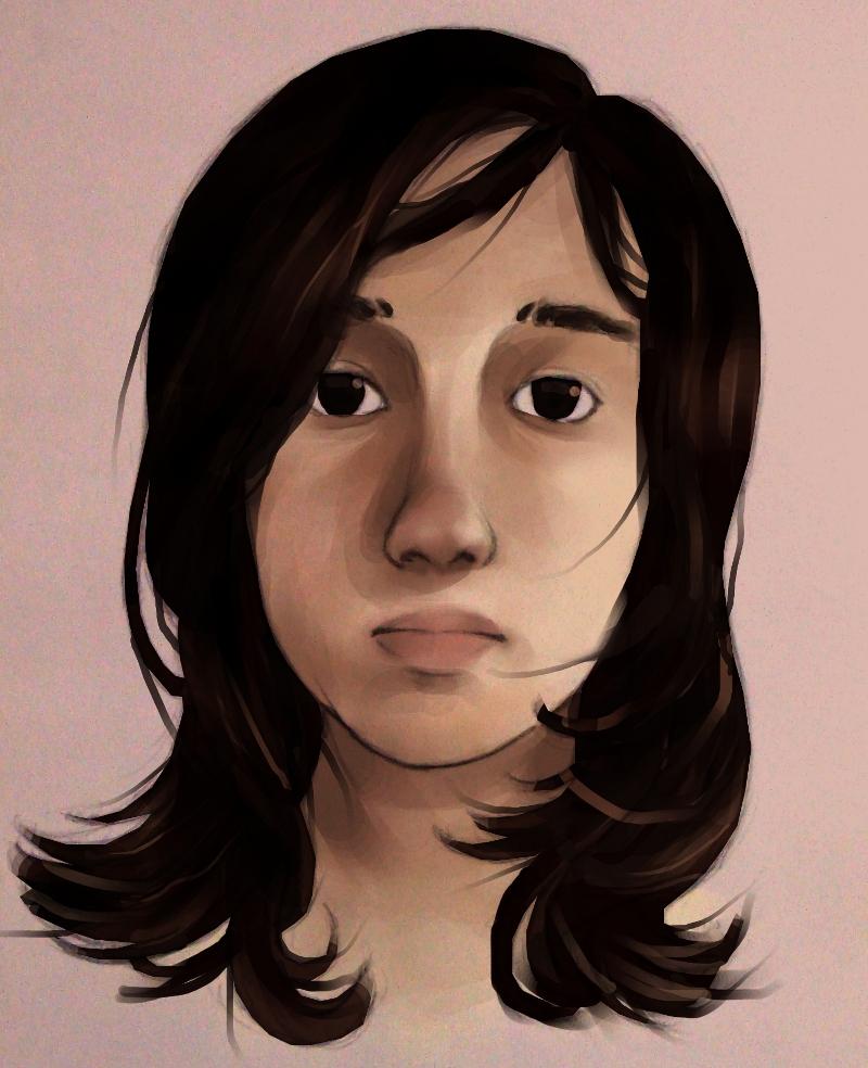 Self-Portrait by Shientah